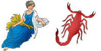 Virgo and Scorpio Zodiac signs compatibility