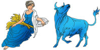 Virgo and Taurus Zodiac signs compatibility