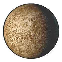 The fair planet Mercury