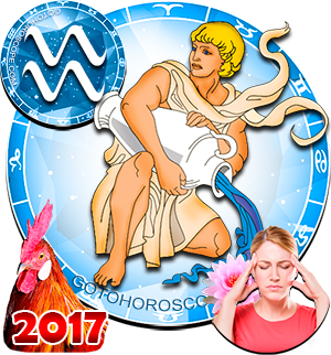 2017 Health Horoscope Aquarius for the Rooster Year