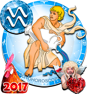 2017 Love Horoscope Aquarius for the Rooster Year