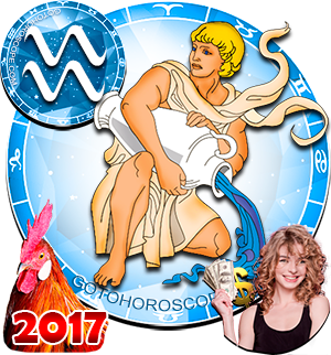 2017 Money Horoscope Aquarius for the Rooster Year