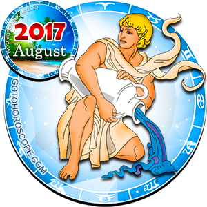 Monthly August 2017 Horoscope for Aquarius