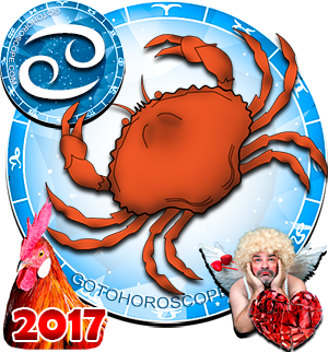 2017 Love Horoscope Cancer for the Rooster Year