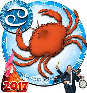 2017 Work Horoscope Cancer for the Rooster Year