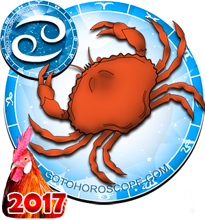 2017 Horoscope for Cancer Zodiac Sign