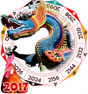 Oriental 2017 Horoscope for Dragon