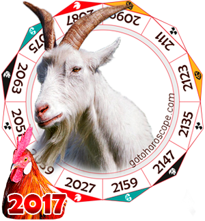 Oriental 2017 Horoscope for Sheep
