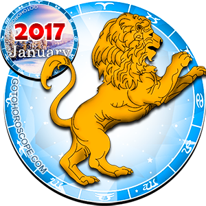 Monthly January 2017 Horoscope for Leo
