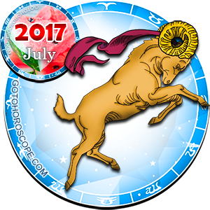 Monthly July 2017 Horoscope for Aries
