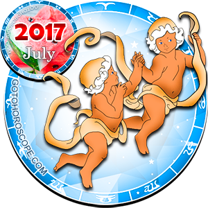 Monthly July 2017 Horoscope for Gemini