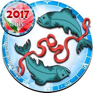 Monthly July 2017 Horoscope for Pisces
