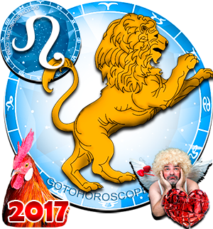 2017 Love Horoscope Leo for the Rooster Year