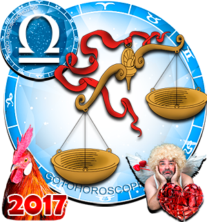 2017 Love Horoscope Libra for the Rooster Year