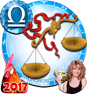 2017 Money Horoscope Libra for the Rooster Year