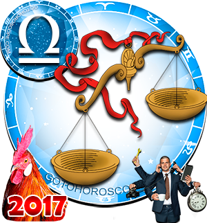 2017 Work Horoscope Libra for the Rooster Year