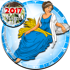 Monthly March 2017 Horoscope for Virgo