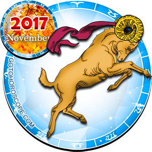 Daily Horoscope for Aries for November 16, 2017