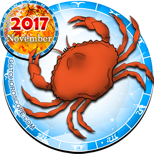 2017 November Horoscope Cancer for the Rooster Year
