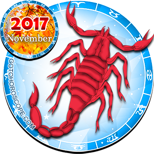 2017 November Horoscope Scorpio for the Rooster Year