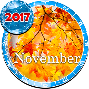 Monthly November 2017 Horoscope