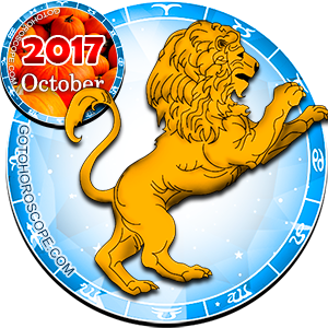 Monthly October 2017 Horoscope for Leo