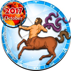 Monthly October 2017 Horoscope for Sagittarius