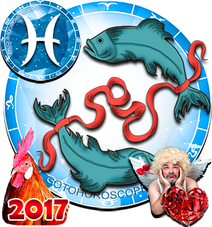 2017 Love Horoscope Pisces for the Rooster Year