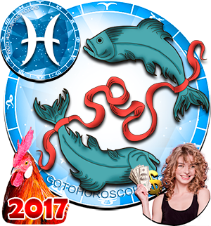 2017 Money Horoscope Pisces for the Rooster Year