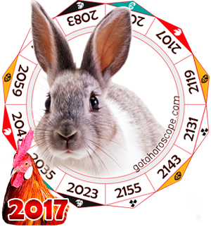 Oriental 2017 Horoscope for Rabbit