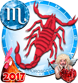 2017 Love Horoscope Scorpio for the Rooster Year