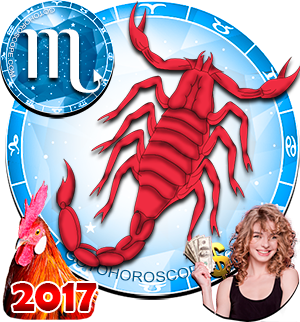 2017 Money Horoscope Scorpio for the Rooster Year