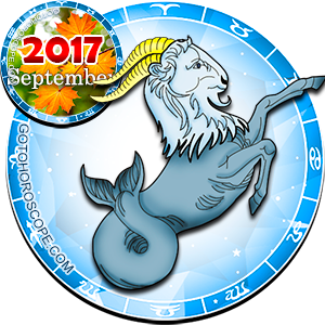 Monthly September 2017 Horoscope for Capricorn