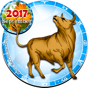 Monthly September 2017 Horoscope for Taurus