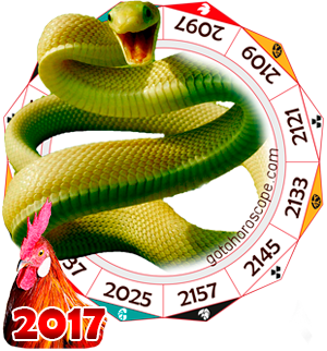 Oriental 2017 Horoscope for Snake