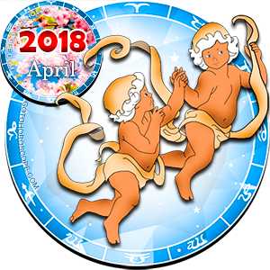 2018 April Horoscope Gemini for the Dog Year