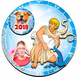 2018 Health Horoscope for Aquarius Zodiac Sign
