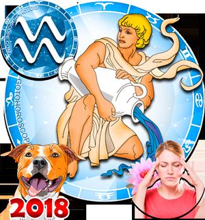 2018 Health Horoscope Aquarius for the Dog Year