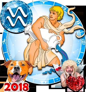 2018 Love Horoscope for Aquarius Zodiac Sign