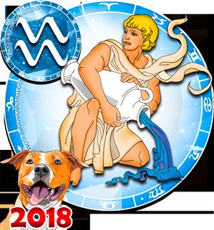 2018 Horoscope for Aquarius Zodiac Sign