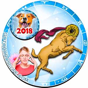 2018 Health Horoscope for Aries Zodiac Sign
