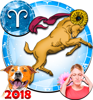 2018 Health Horoscope Aries for the Dog Year