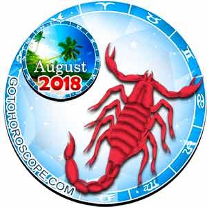 Scorpio Horoscope for August 2018
