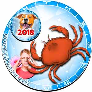 2018 Health Horoscope for Cancer Zodiac Sign