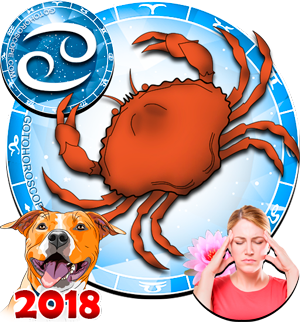 2018 Health Horoscope Cancer for the Dog Year