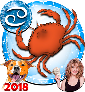 2018 Money Horoscope Cancer for the Dog Year