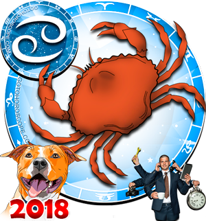 2018 Work Horoscope Cancer for the Dog Year