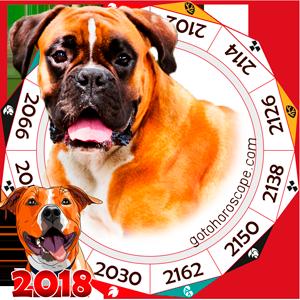 Oriental 2018 Horoscope for Dog