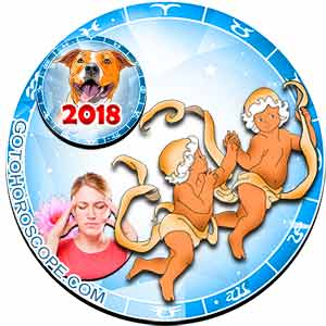 2018 Health Horoscope for Gemini Zodiac Sign