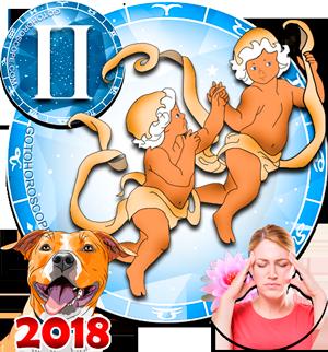 2018 Health Horoscope Gemini for the Dog Year